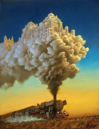 Smokin' trains