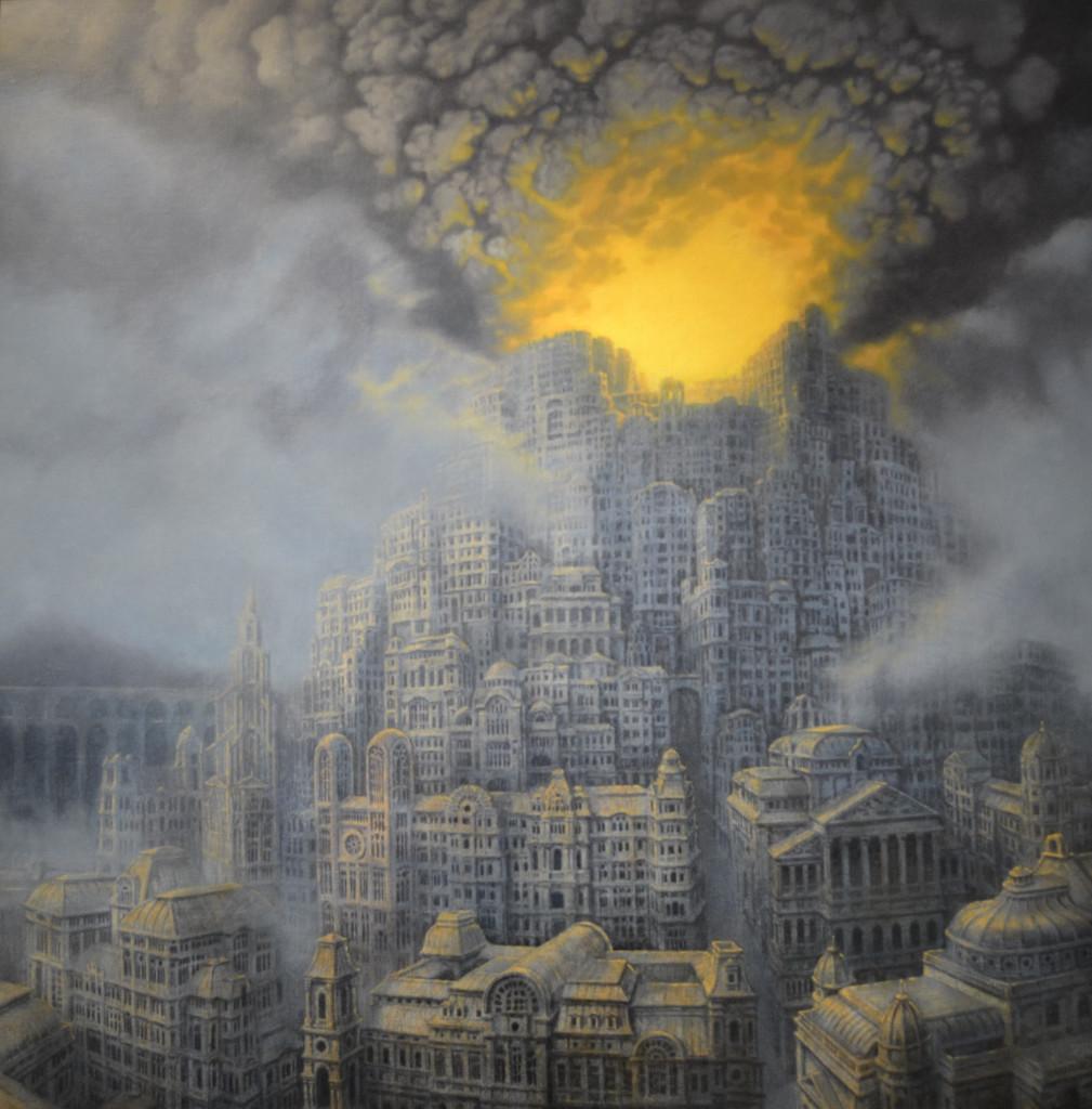 La città in fiamme